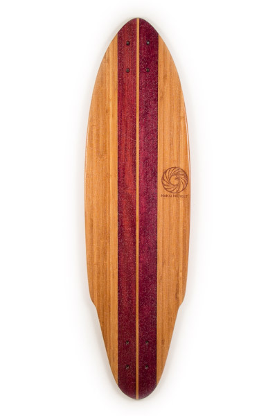 Purpleheart, Maple, Bamboo - Handmade Skateboards from Makai Project - born and raised in South Florida