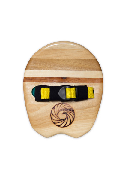 Flying Fish Handplane from Makai Project - Made with poplar, aspen and teak