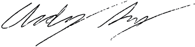 andy snyder signature