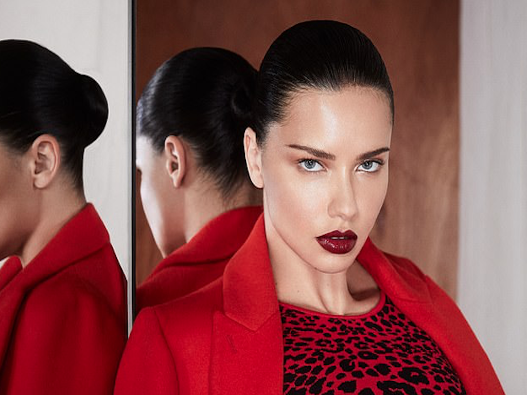 Adriana lima featured in bcbg campaign web