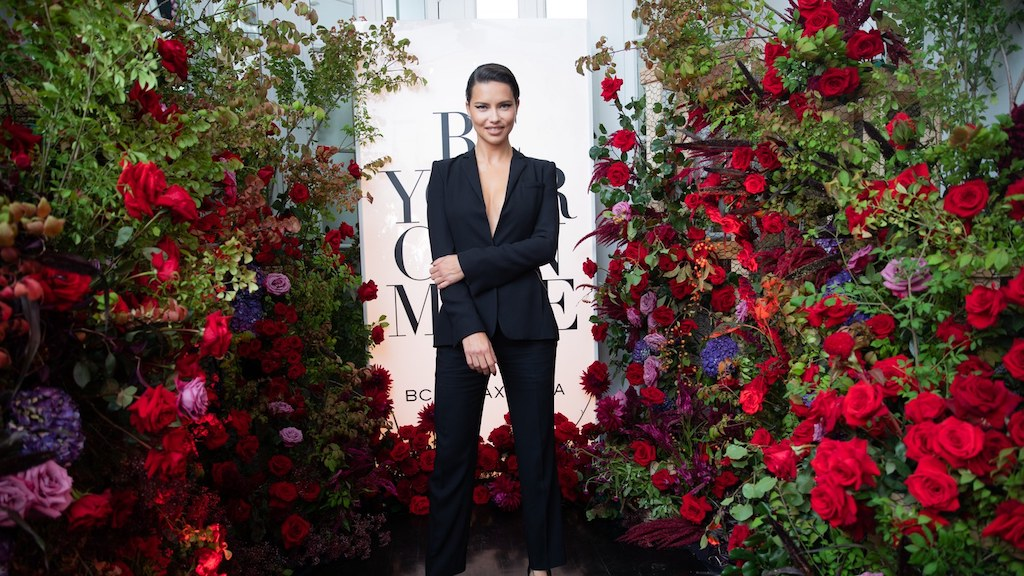 Bcbgmaxazria celebrated 30 years anniversary with host adriana lima