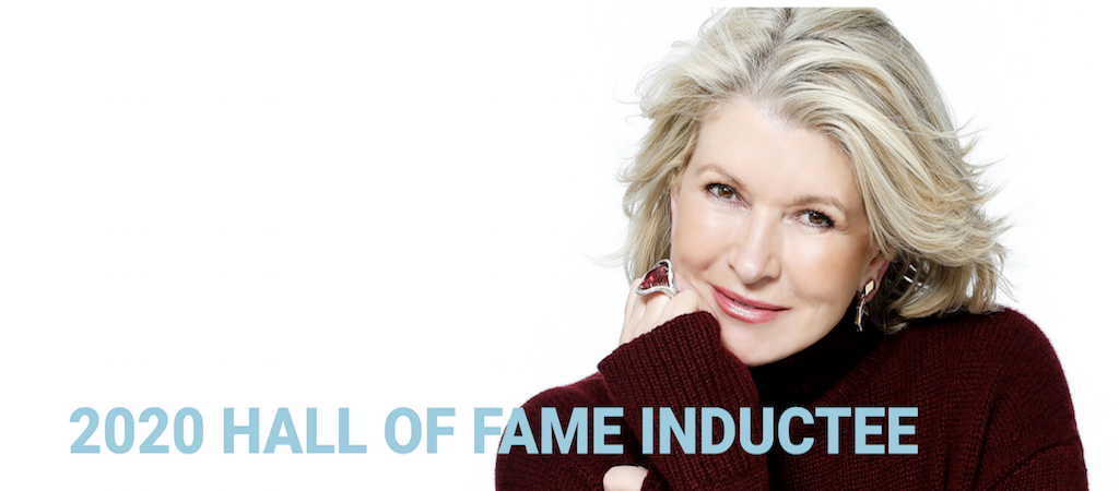 Martha stewart 2020 hall of fame inductee