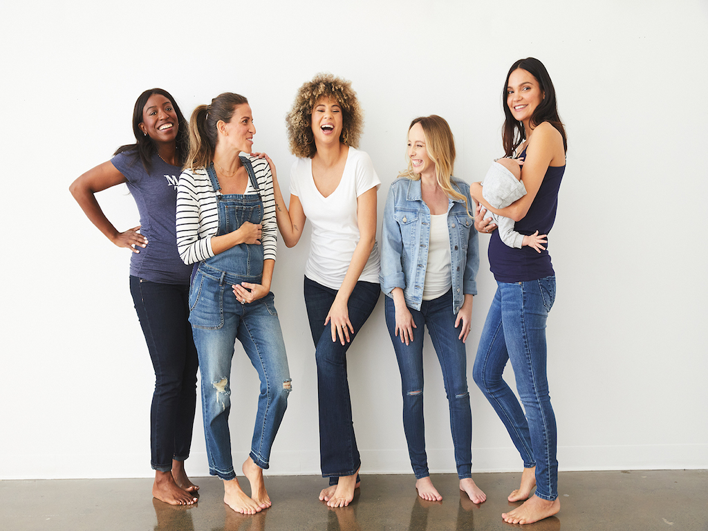 Motherhood maternity denim group