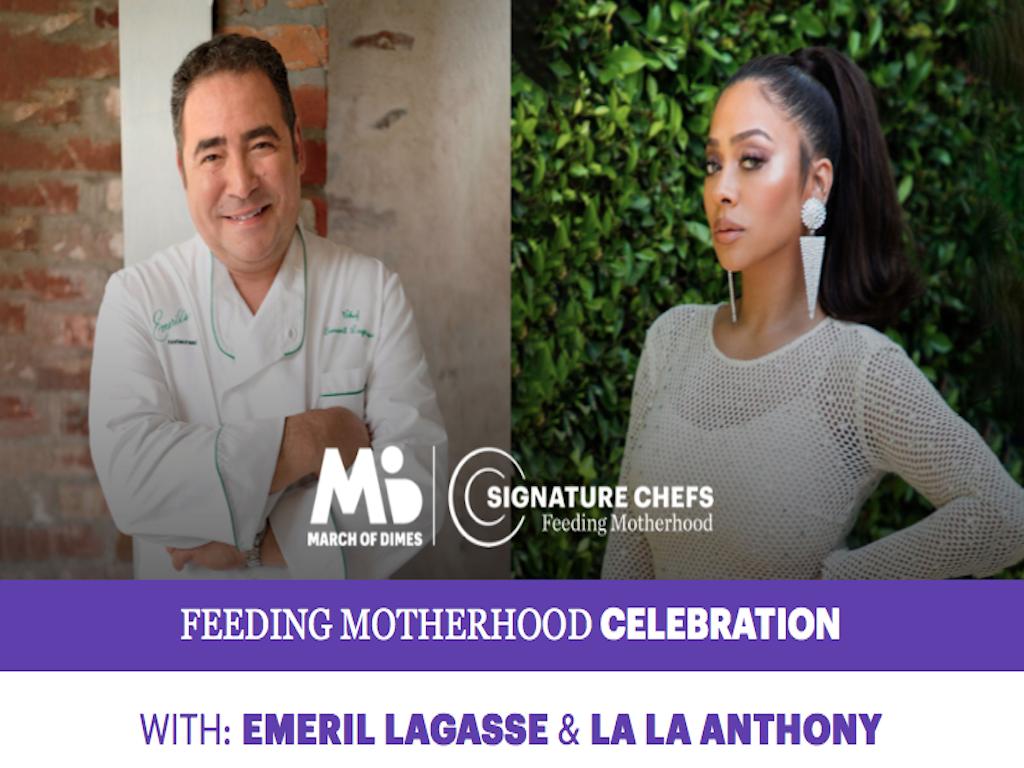 Feeding motherhood celebration