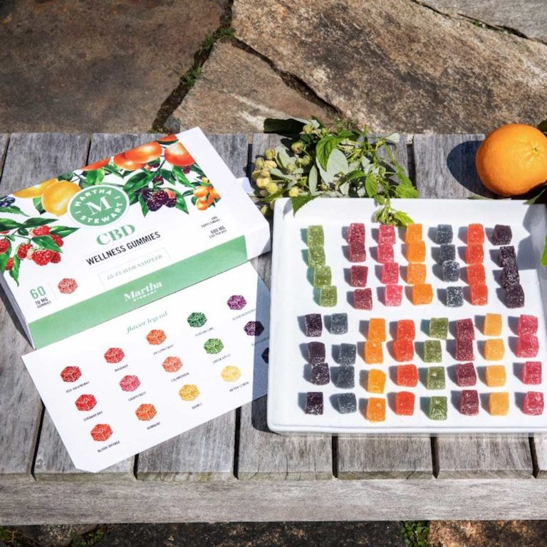 Martha stewart cbd wellness gummies