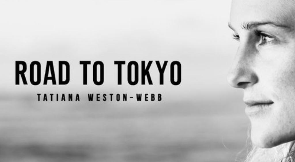 Tatiana weston webb road to tokyo