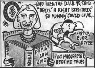 DV Act cartoon by Ben Easton