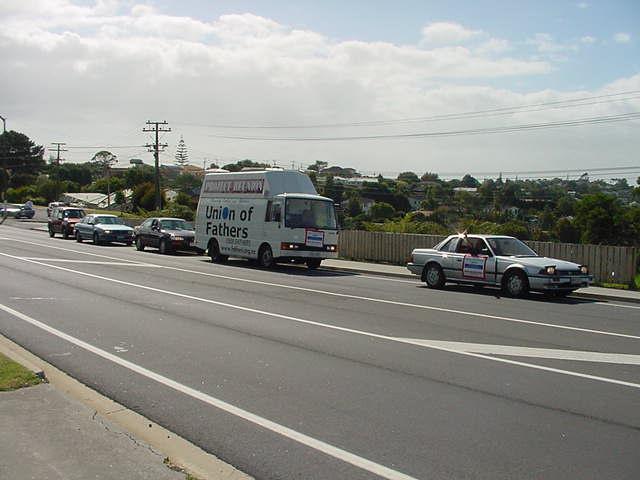 convoy departs