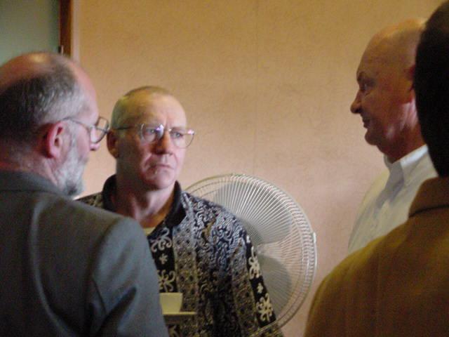 Dennis Valentine, John Binstead, Alan Blackburn