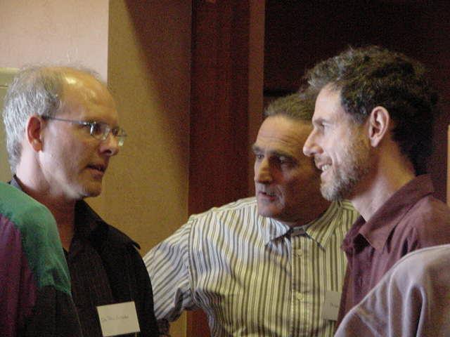 Paul Callister, Phil Chapman, Rex McCann