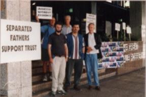 Xmas protest Jan 2000