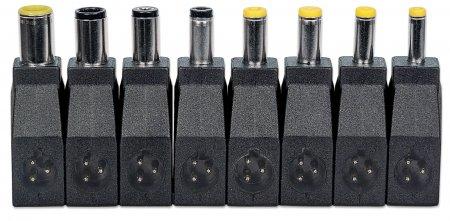 Universal Notebooknetzteil MANHATTAN Einstellbare Spannung, sieben Ausgangsstufen, 70 W