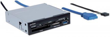 Multi-Card Reader/Writer MANHATTAN USB 3.0, 3,5