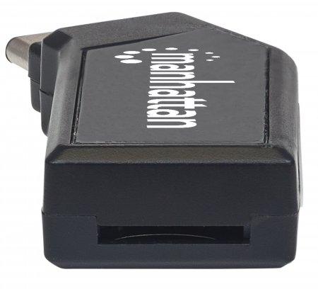 USB-C Mini Multi-Card Reader/Writer MANHATTAN Hi-Speed USB 2.0, mobil, 24-in-1