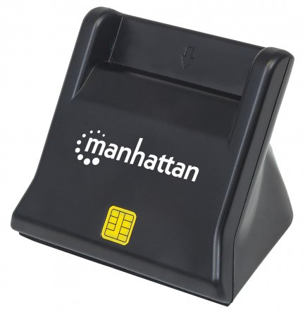 Standing USB Smart/SIM Card Reader - , USB 2.0 Type-A, Contact Reader, Desktop, External