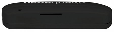 USB-Smartcard-/SIM-Kartenlesegerät MANHATTAN USB 2.0 Typ A, Kontaktlesegerät, kompakt, extern, schwarz