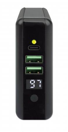 4-in-1 Reiseladegerät und Powerbank 8.000 mAh MANHATTAN 102452 (BILD3)