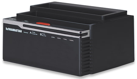 "SATA Quick Clone Dock - , SuperSpeed USB to Dual SATA, 3.5""/2.5"""