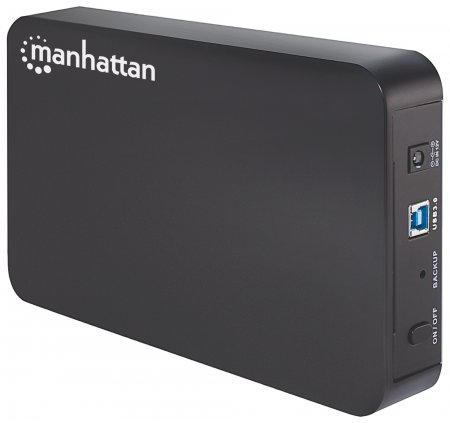 Drive Enclosure - Easily create new, portable storage solutions for digital media, SuperSpeed USB 3.0, SATA, 3.5""