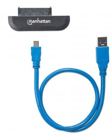 USB 3.0 auf SATA Adapter MANHATTAN Zum Anschluss von 2,5