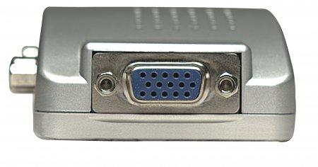 PC TV Konverter MANHATTAN Zum Anschluss eines Computers an einen Fernseher