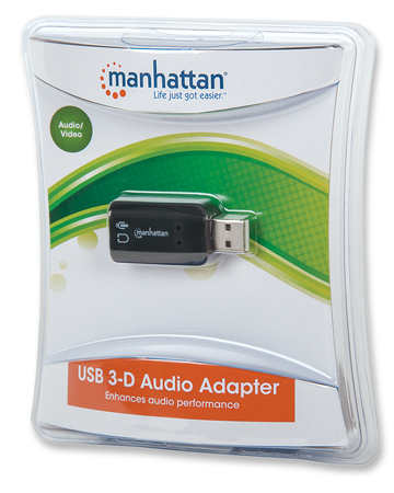 Hi-Speed USB 3-D Sound Adapter