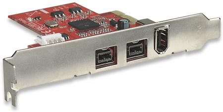 Manhattan Products - FireWire 800/400 PCI Express Card (150996)