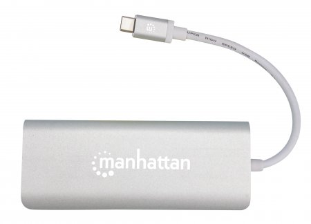SuperSpeed USB-C Multiport-Adapter MANHATTAN USB 3.1 Typ 152075 (BILD5)