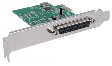 Parallele PCI-Express-Karte MANHATTAN Ein DB25-Port, IEEE 1284 geeignet für PCI Express x1, x2, x4, x8 und x16