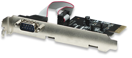 Serial PCI Express Card - , One port, x1 lane