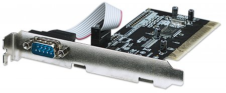 Serial PCI Card - , One External DB9 Port