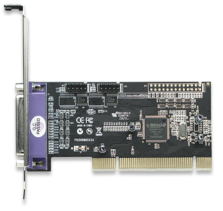 Serial/Parallel Combo PCI Card