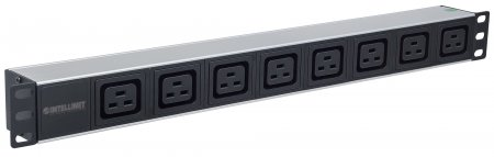 "19"" 1U Rackmount 8-Output C19 Power Distribution Unit (PDU)"