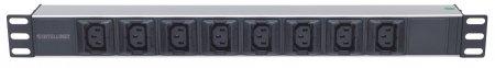 "19"" 1U Rackmount Anti-Shedding 8-Output C13 Power Distribution Unit (PDU)"