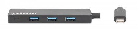 4-Port USB 3.2 Gen 1 Hub MANHATTAN USB-C-Stecker auf 4 x 164924 (BILD3)