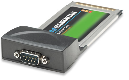 Serial PC Card - , 1 External DB9 Port
