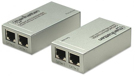 HDMI Cat5e/Cat6 Extender - , Extends 1080p signal up to 60 m (196 ft.)