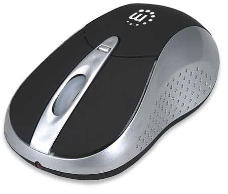 Viva Wireless Mouse - Perfect for Tablets and PCs., Bluetooth, Three-Level Adjustable Resolution, Three Buttons with Scroll Wheel