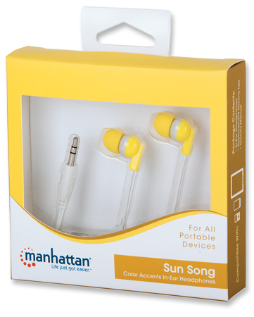 Color Accents - Sun Song, Everyday In-Ear Headphones