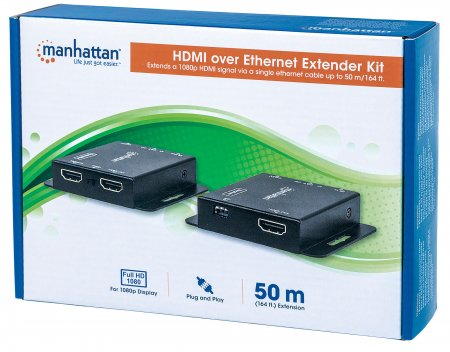 1080p HDMI over Ethernet Extender Kit