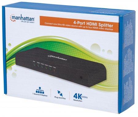 4-Port HDMI Splitter
