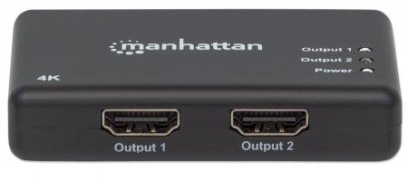 4K 2-Port HDMI Splitter