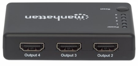 4K Compact 4-Port HDMI Splitter