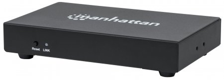 1080p 4-Port HDMI Extending Splitter Transmitter - Easily Split and Extend One Source to Four Displays, Splits One Source to Four Outputs; Extends Signal up to 50 m (165 ft.), Single Ethernet Cable per Receiver, Video Bandwidth Amplifier, Black
