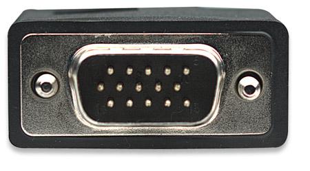 SVGA Monitorkabel mit Ferritkernen MANHATTAN HD15 auf m 317757 (BILD3)