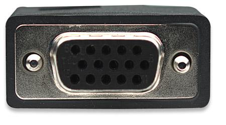 SVGA Verlängerungskabel mit Ferritkernen MANHATTAN HD15 317764 (BILD3)
