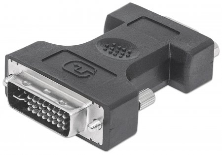 Digital Video Adapter - , DVI-I Dual Link Male to VGA Female