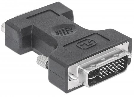 Digitaler Videoadapter MANHATTAN DVI-I Dual Link auf VGA-Buchse