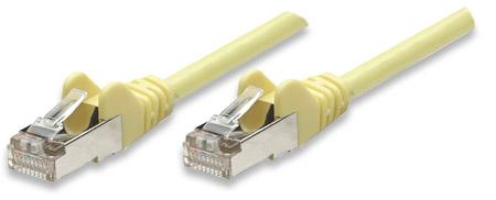 Netzwerkkabel, Cat5e, F/UTP INTELLINET RJ45 Stecker / RJ45 Stecker, m, - 332569