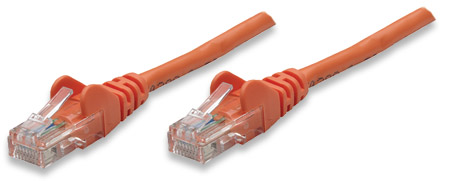 Network Cable, Cat5e, UTP - , RJ-45 Male / RJ-45 Male, 5.0 m (14 ft.), Orange